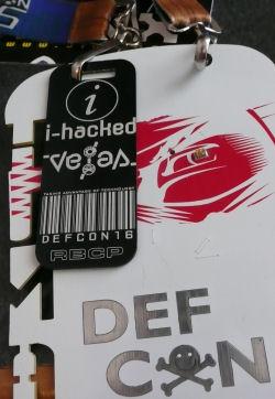 defcon badge